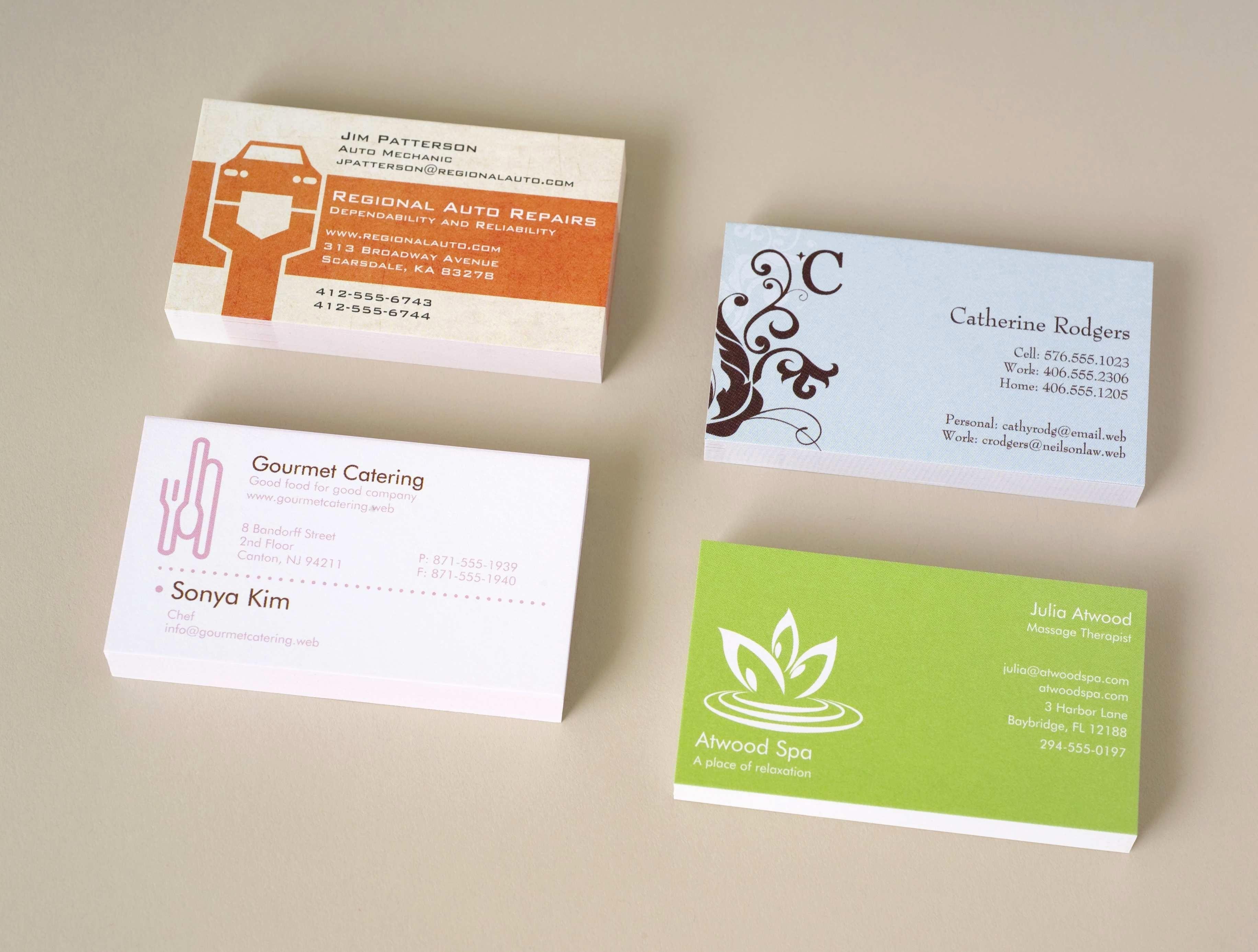 Free Online Business Card Templates Printable Fresh Free Line - Free Online Business Card Templates Printable