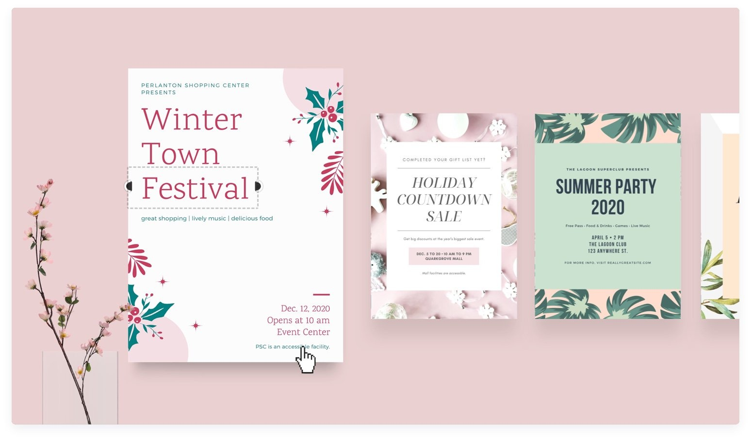 Free Online Flyer Maker: Design Custom Flyers With Canva - Design Your Own Poster Free Printable