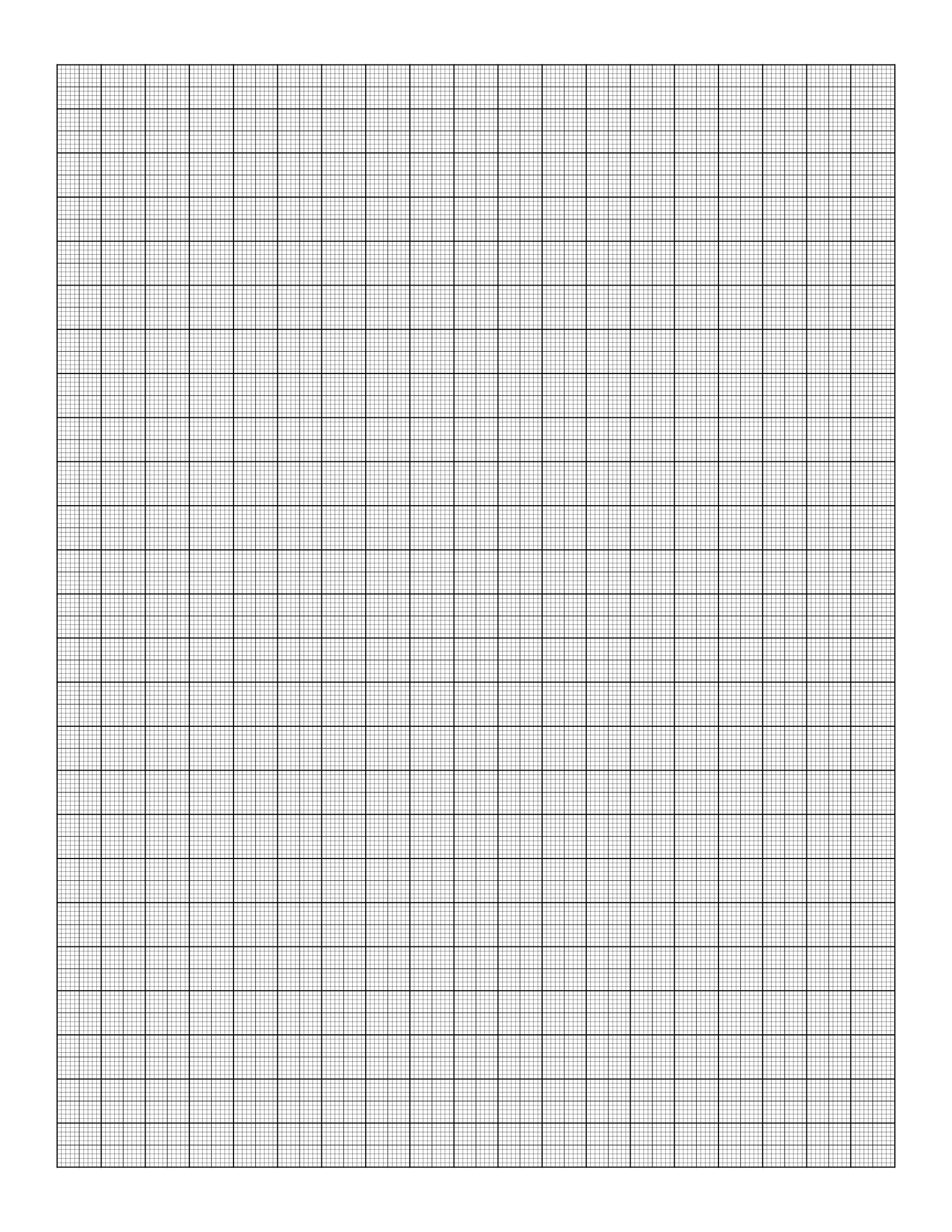 Free Online Graph Paper / Multi-Width - Half Inch Grid Paper Free Printable