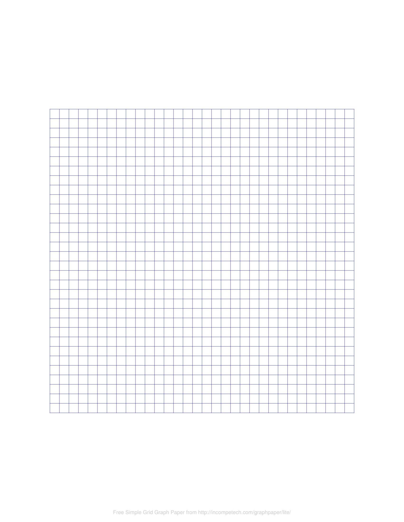 Free Online Graph Paper / Simple Grid - Cm Graph Paper Free Printable