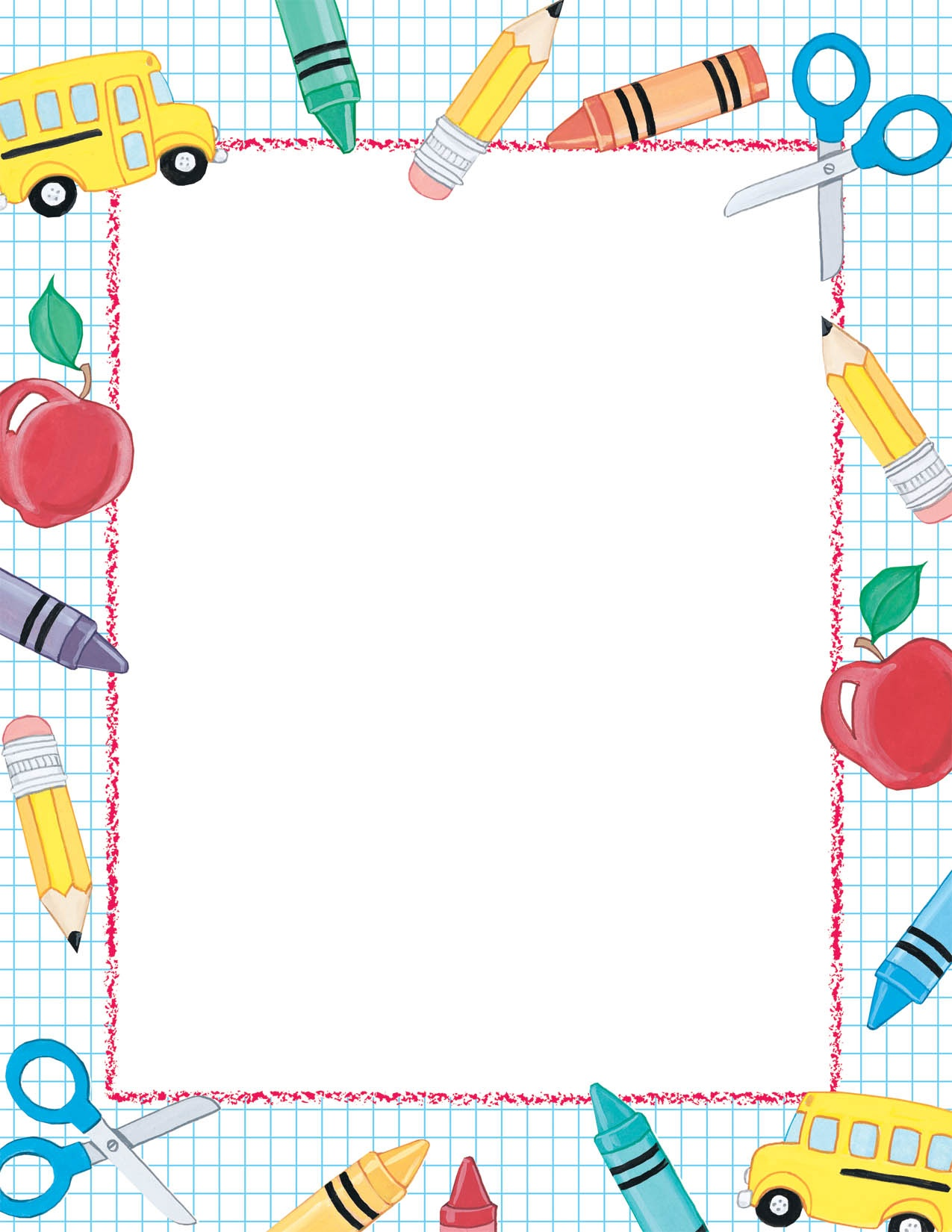 Free Paper Borders, Download Free Clip Art, Free Clip Art On Clipart - Free Printable School Stationery Borders
