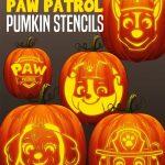Free Paw Patrol Pumpkin Stencils | Paw Patrol Birthday | Paw Patrol   Halloween Pumpkin Carving Stencils Free Printable