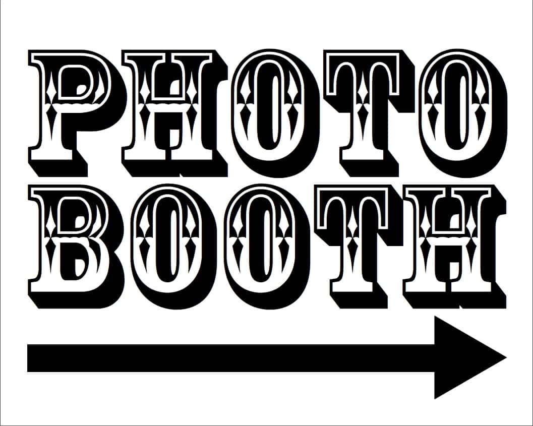 Free Photo Booth Printables For Your Wedding | Photo Booth Rocks - Selfie Station Free Printable