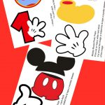 Free Photo Props Mickey Mouse Printable & Templates | Photo Booth - Free Mickey Mouse Printable Templates