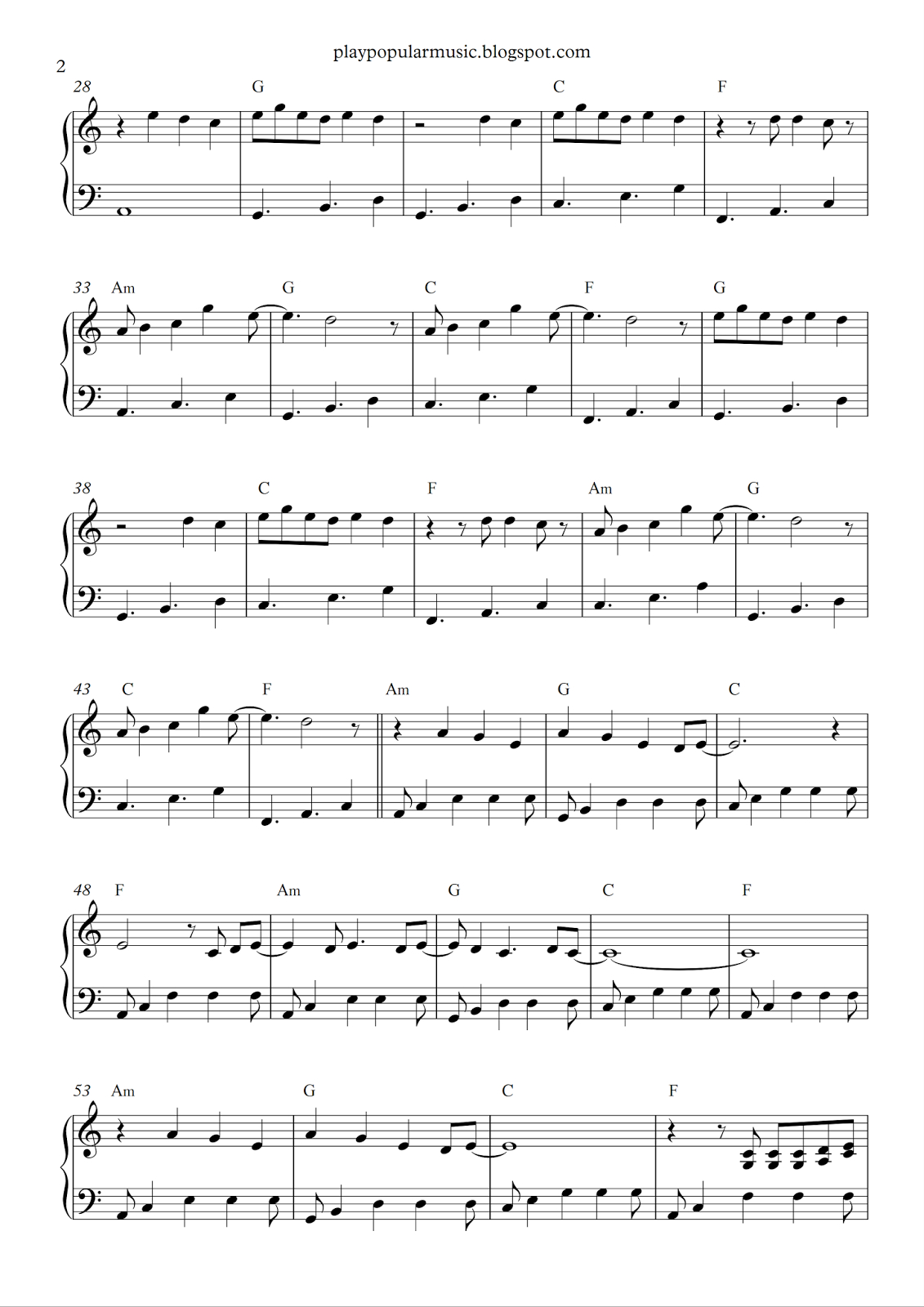 Free Piano Sheet Music: Shawn Mendes - Stitches.pdf N Ow That I'm - Airplanes Piano Sheet Music Free Printable