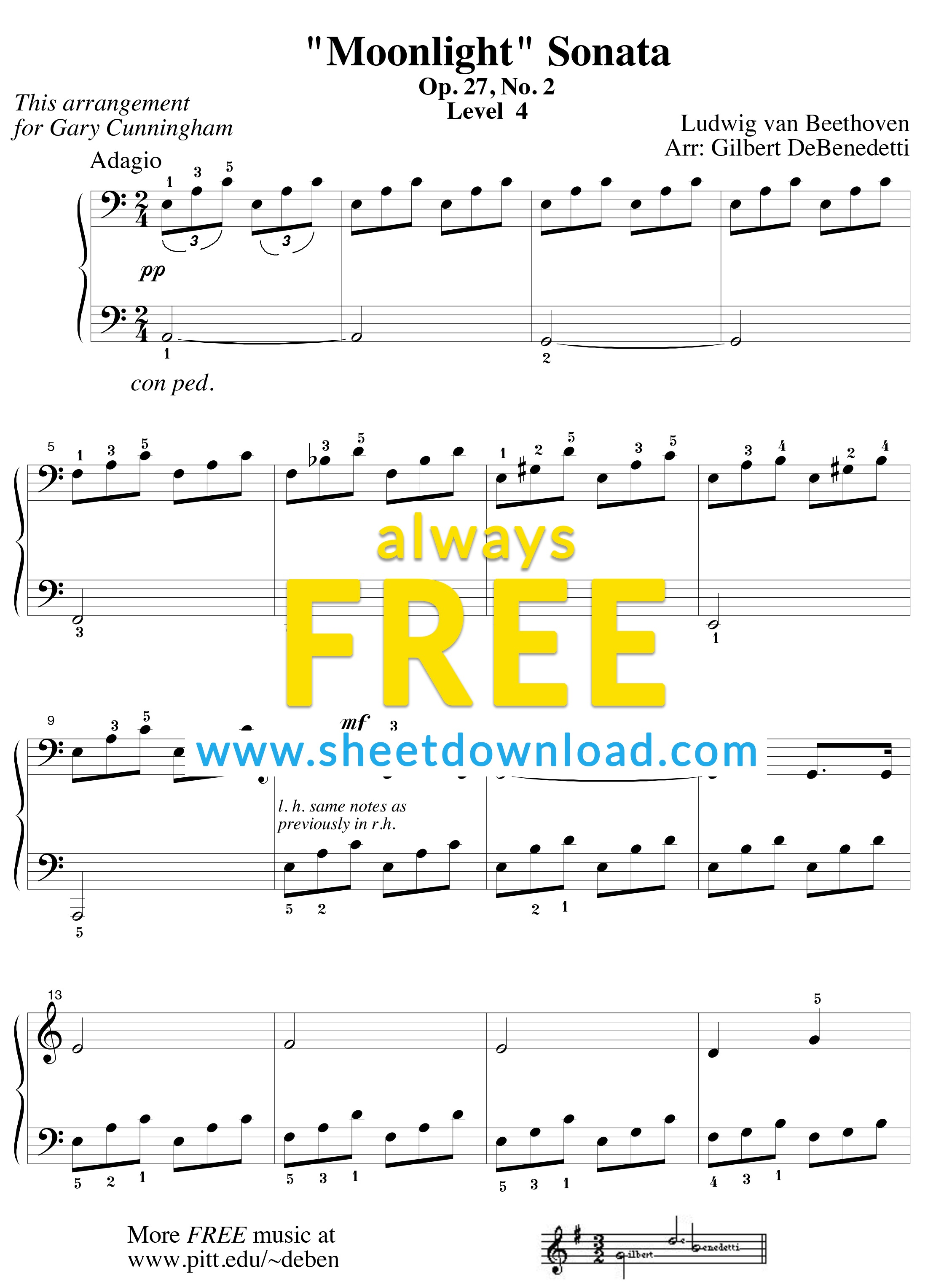 Free Piano Sheet Music To Download And Print - High Quality Pdfs - Free Printable Music Sheets Pdf