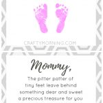 Free Pitter Patter Of Tiny Feet Poem Printable For Mom Or Dad   Free Printable Fathers Day Poems For Preschoolers