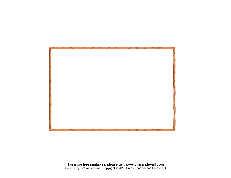Free Postcard Templates | Blank Printable Postcards - Free Printable Postcard Template
