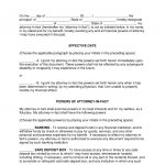 Free Power Of Attorney Forms - Word | Pdf | Eforms – Free Fillable Forms - Free Printable Power Of Attorney Form Florida
