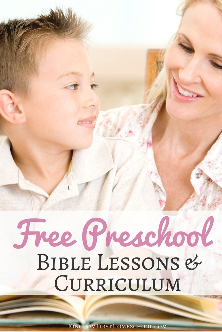 Free Preschool Bible Lessons And Curriculum - Free Printable Bible Lessons For Toddlers