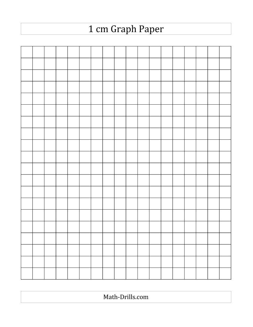 Free Printable 1 Cm Graph Paper (A) | Back To School | Printable - Free Printable Squared Paper