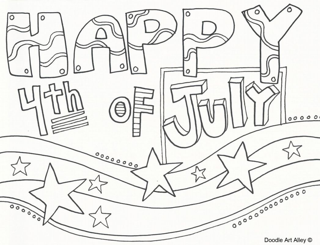 Free, Printable 4Th Of July Coloring Pages - Free Printable 4Th Of July Coloring Pages