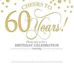 Free Printable 60Th Birthday | Kellies 50Th Bday Ideas | 60Th   Free Printable Surprise 60Th Birthday Invitations