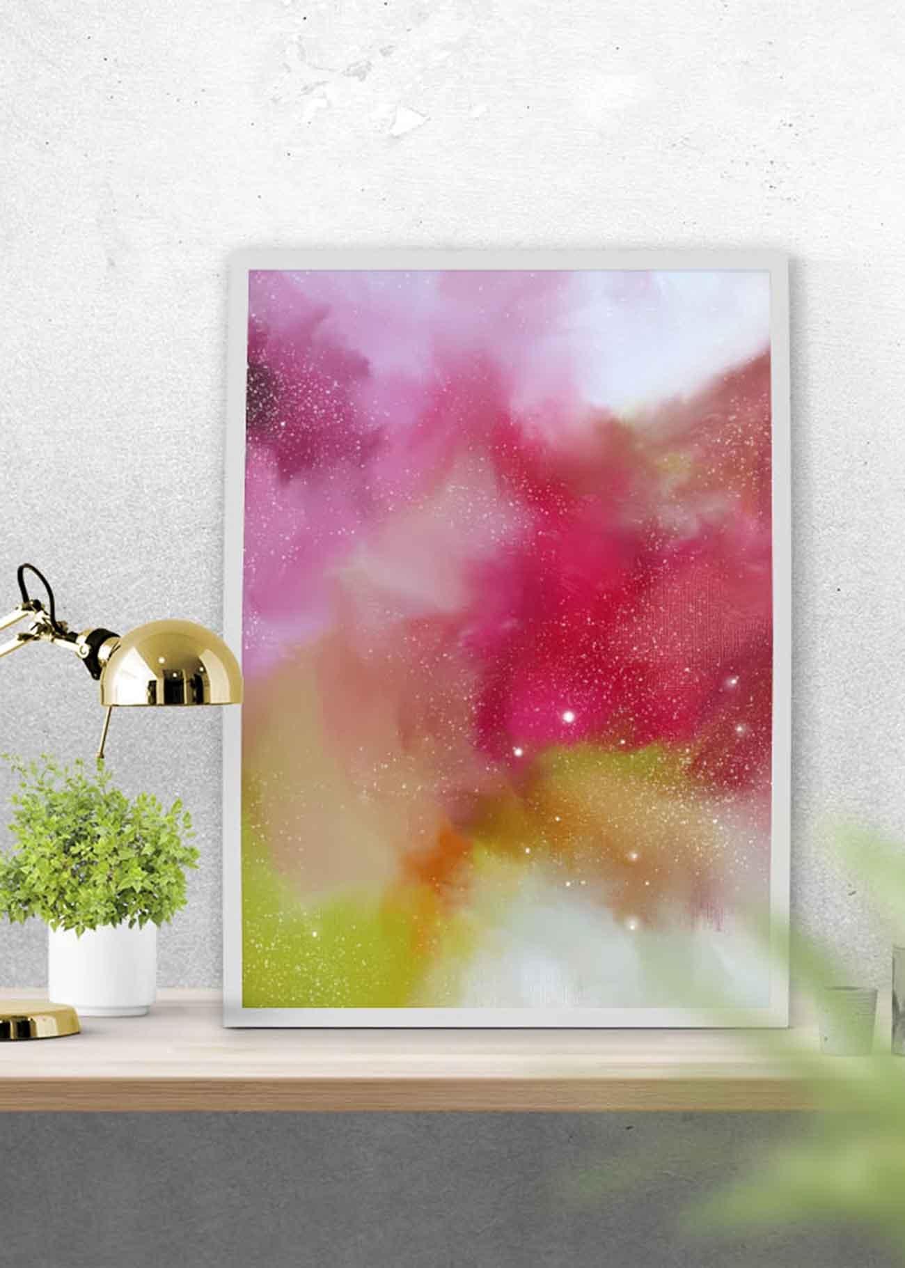 Free Printable Abstract Art - July 2016   Corinne Melanie - Free Printable Artwork