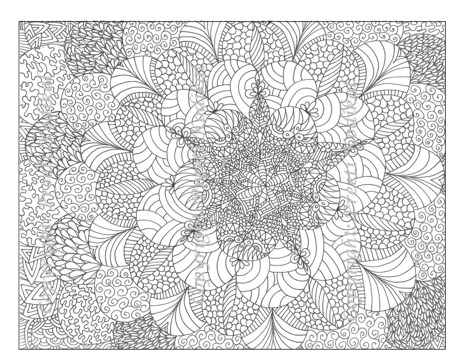Free Printable Abstract Coloring Pages For Adults - Coloring Home - Free Printable Coloring Designs For Adults