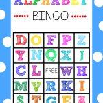 Free Printable Alphabet Bingo Game   Free Printable Alphabet Board Games