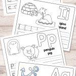 Free Printable Alphabet Book   Alphabet Worksheets For Pre K And K   Free Printable Books For Kindergarten