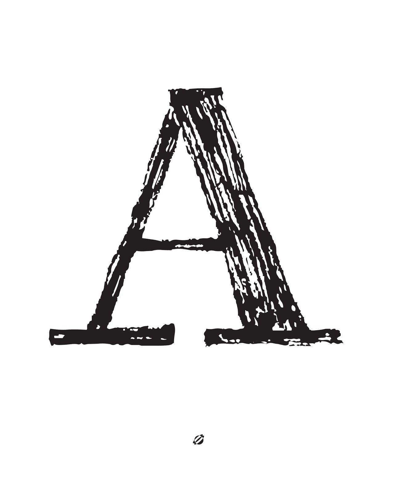 Free Printable Alphabet Letters (A-Z!) // Lostbumblebee   Printables - Free Printable Letters Az