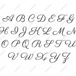 Free Printable Alphabet Stencil Letters Template | Art & Crafts   Free Printable Fonts