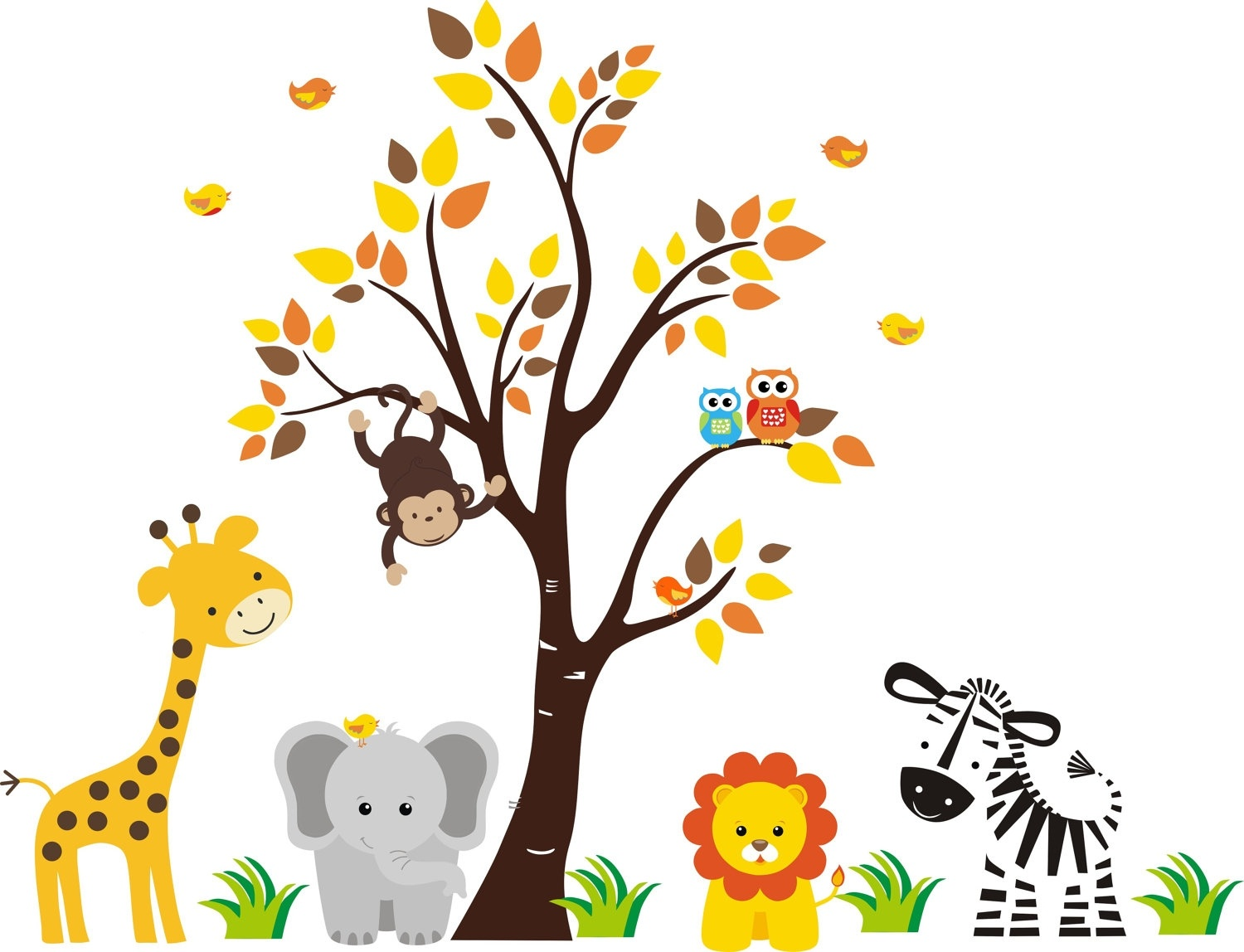 Free Printable Animal Cliparts, Download Free Clip Art, Free Clip - Free Printable Baby Jungle Animal Clipart