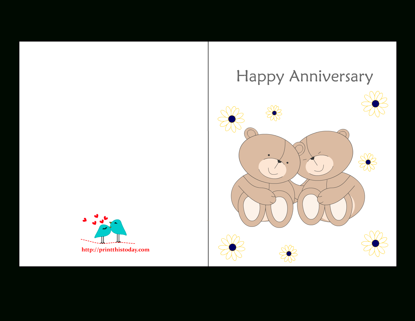Free Printable Anniversary Cards - Printable Cards Free Anniversary