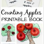 Free Printable Apple Counting Book Perfect For A Preschool Apple Theme   Free Printable Reading Books For Preschool