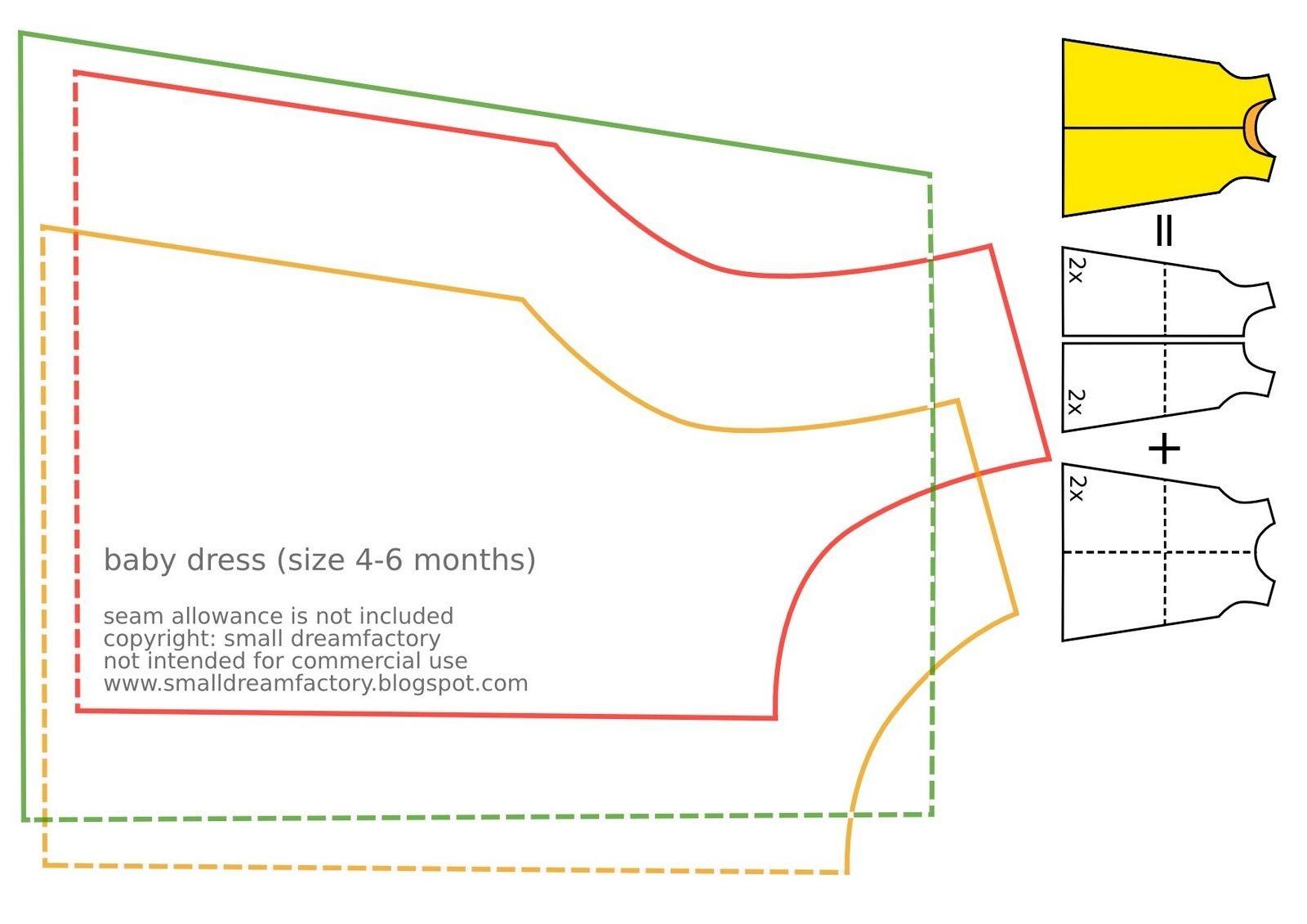 Free Printable Baby Sewing Patterns | Free Sewing Tutorial And - Free Printable Pillowcase Dress Pattern