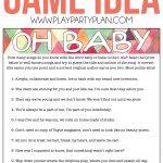 Free Printable Baby Shower Game That Has Guests Guess The Name Of   Name That Tune Baby Shower Game Free Printable