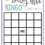 Free Printable Baby Shower Games For Large Groups   Crafts   Baby   Baby Bingo Game Free Printable