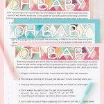 Free Printable Baby Shower Songs Guessing Game   Play Party Plan   Name That Tune Baby Shower Game Free Printable