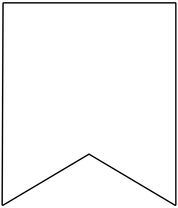 Free Printable Blank Flag Template