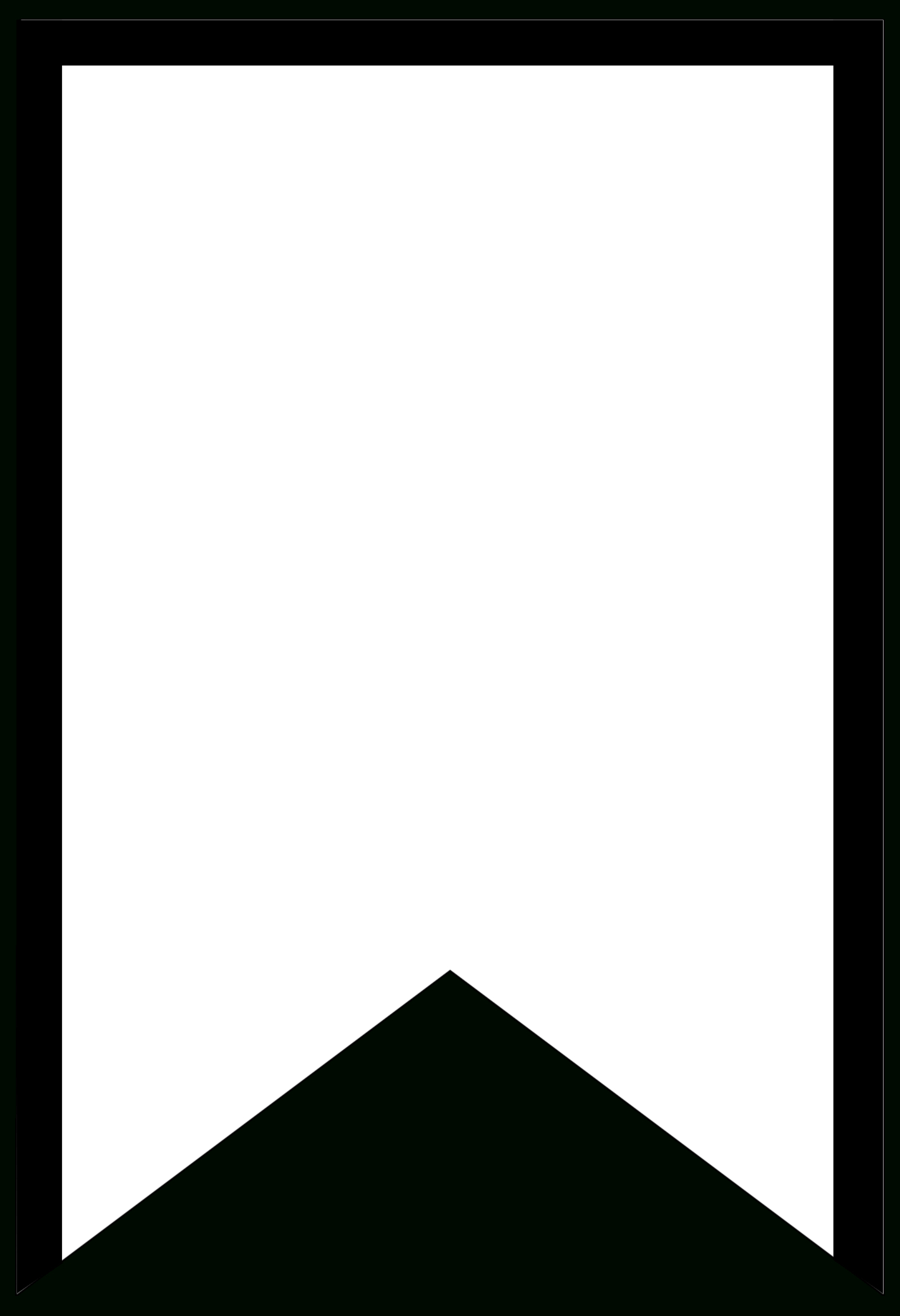 Free Printable Banner Templates {Blank Banners}   Creative - Free Printable Blank Flag Template