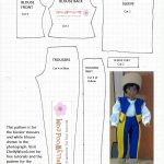 Free Printable Barbie Doll Clothes Patterns – Free, Printable Doll   Free Printable Barbie Doll Sewing Patterns Template