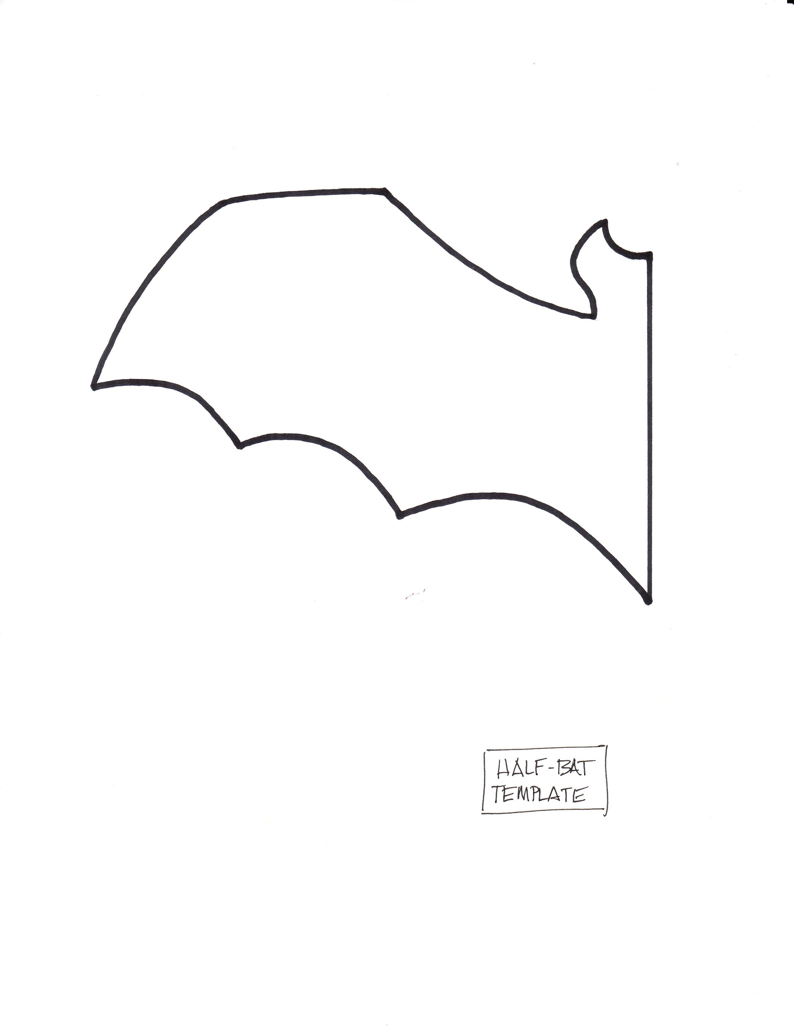 Free Printable Bat Templates | Printer And Plain White Paper - Free Printable Bat Writing Paper