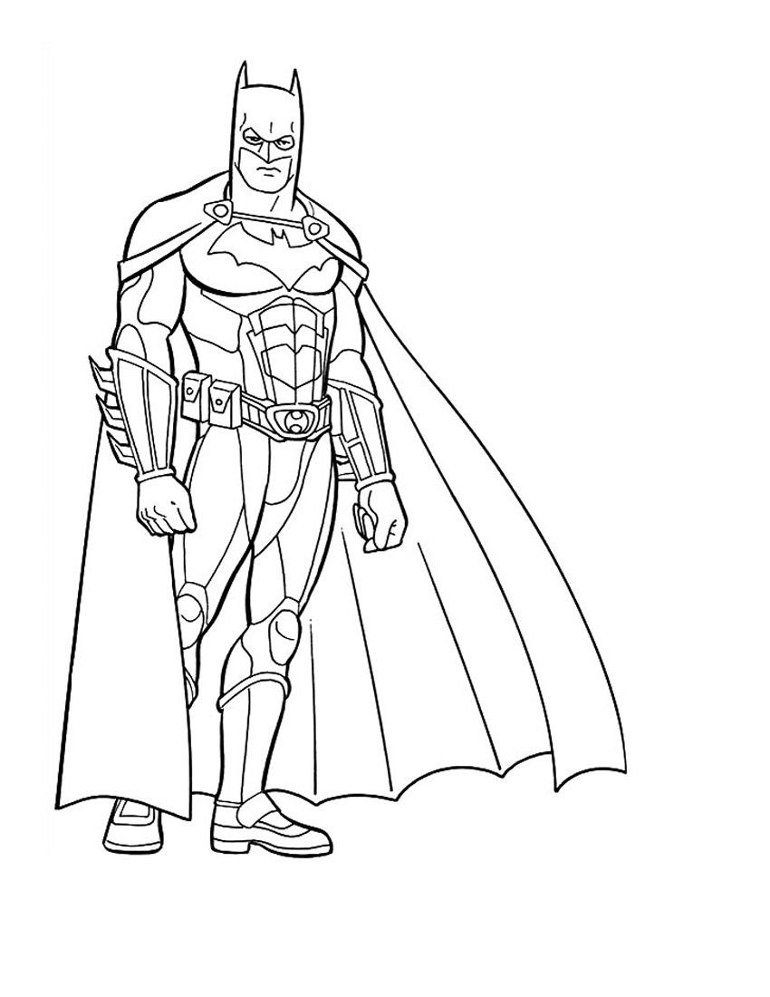 Free Printable Batman Coloring Pages For Kids | Vbs Decorations - Free Printable Batman Pictures