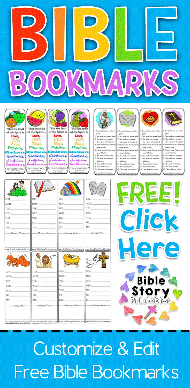 Free Printable Bible Bookmarks For Kids These Are Bookmarks That - Books Of The Bible Bookmark Printable Free