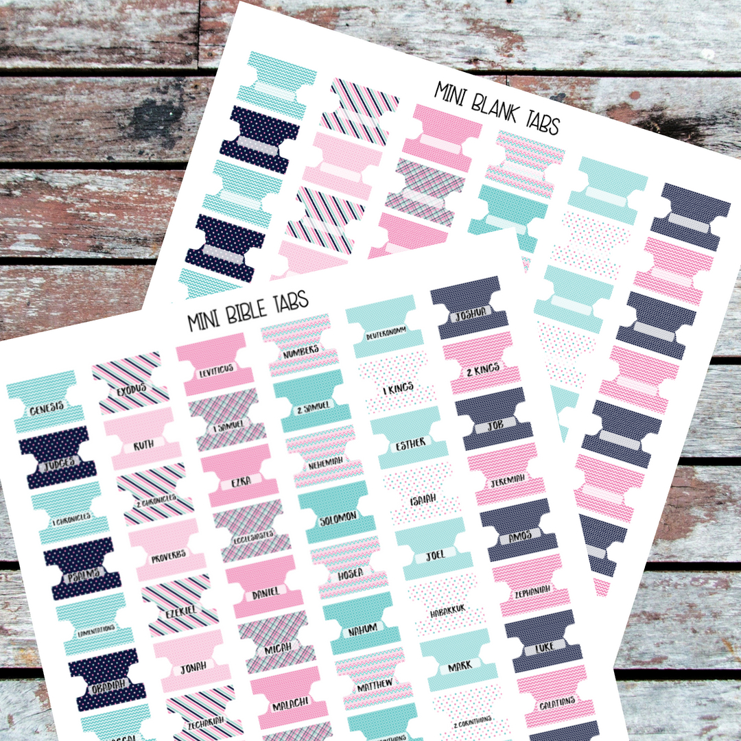 Free Printable Bible Tabs (82+ Images In Collection) Page 1 - Free Printable Bible Tabs