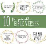 Free Printable Bible Verses   Christinas Adventures   Free Printable Inspirational Bible Verses