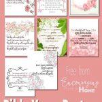 Free Printable Bible Verses To Encourage And Inspire Homeschool Moms   Free Printable Inspirational Bible Verses