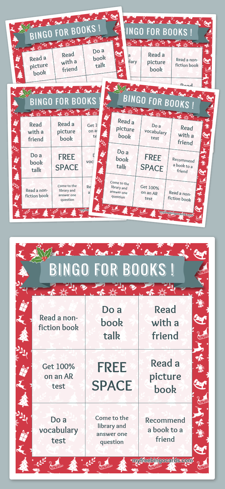 Free Printable Bingo Cards | Bingo | Free Bingo Cards, Christmas - Fraction Bingo Cards Printable Free