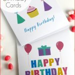 Free Printable Birthday Card 8 Best Images Of Free Printable   Free Printable Birthday Cards For Dad