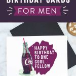 Free Printable Birthday Cards For Him | Stay Cool - Free Printable Bday Cards