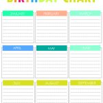 Free Printable Birthday Chart | Special Days | Birthday Charts   Free Printable Birthday Graph