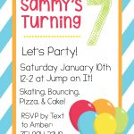 Free Printable Birthday Invitation Templates   Free Printable Birthday Invitations With Pictures