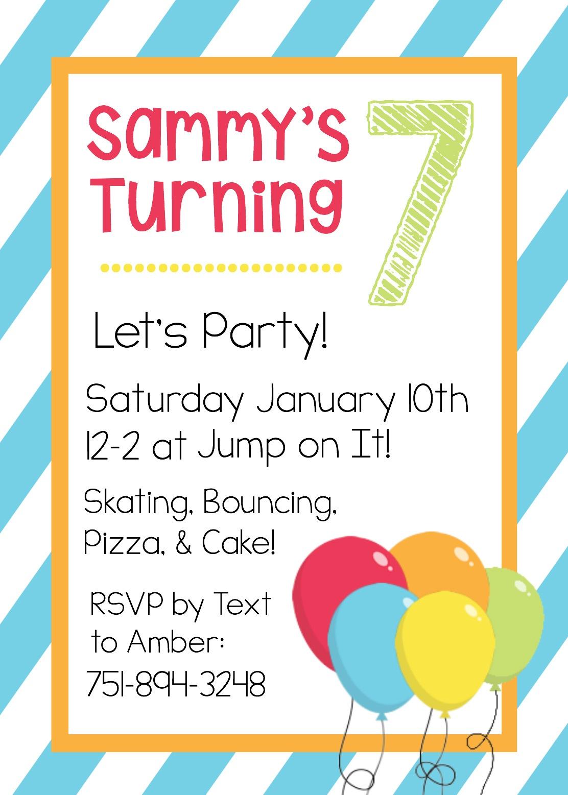 Free Printable Birthday Invitation Templates - Make Printable Party Invitations Online Free