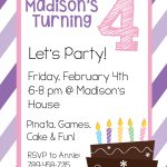 Free Printable Birthday Invitation Templates   Make Your Own Birthday Party Invitations Free Printable