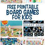 Free Printable Board Games | Printables For Kids | Printable Board   Free Printable Alphabet Board Games