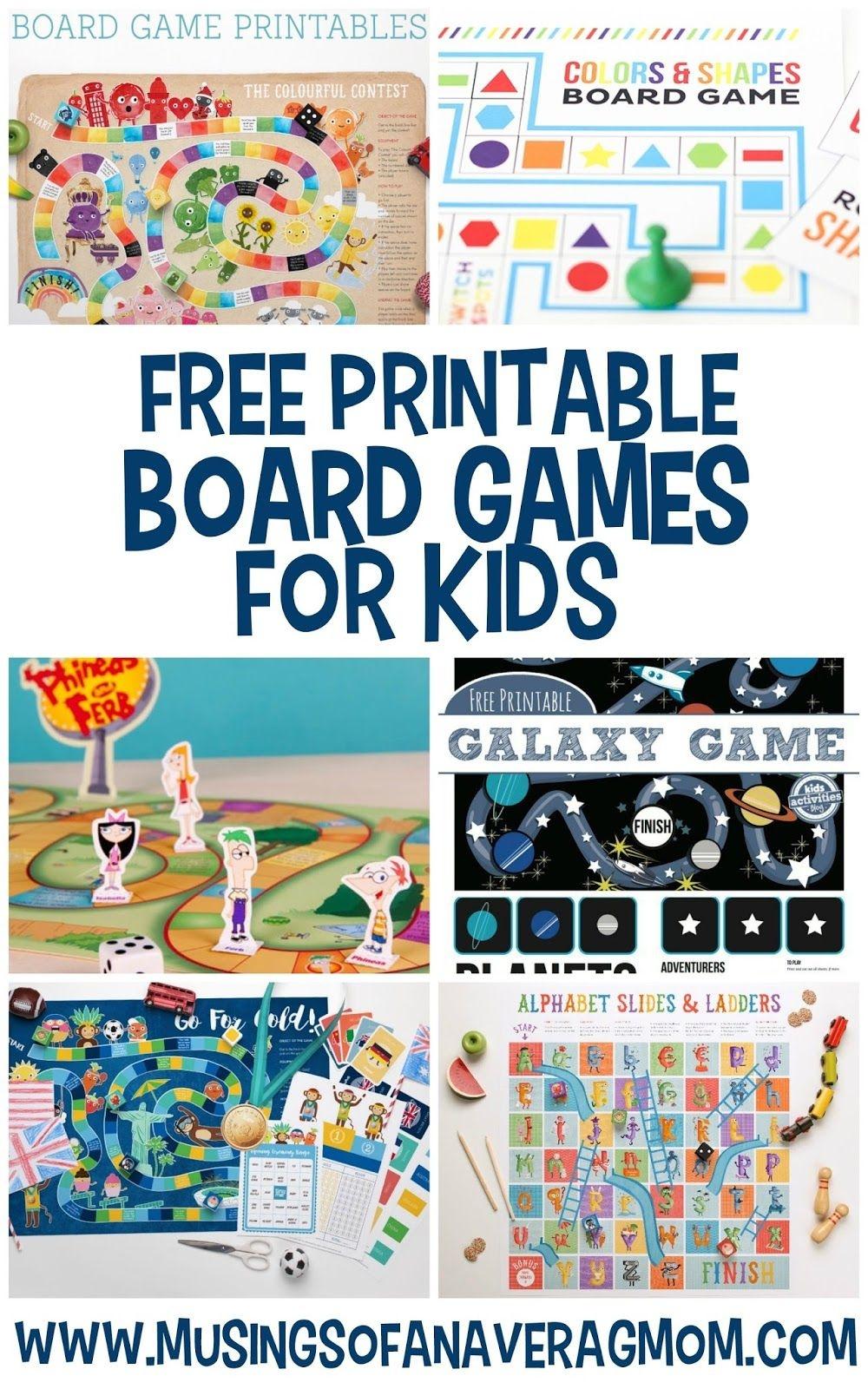 Free Printable Board Games | Printables For Kids | Printable Board - Free Printable Alphabet Board Games