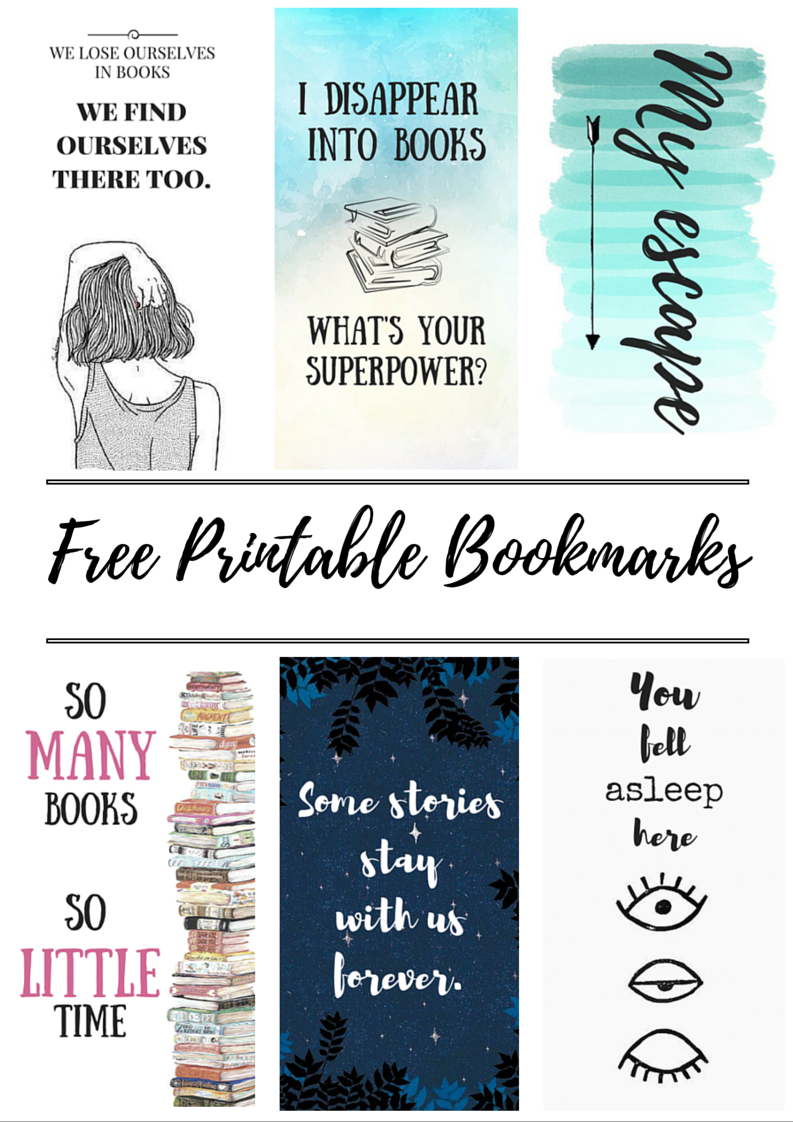 Free Printable Bookmarks | Crafty | Free Printable Bookmarks, Diy - Free Printable Images