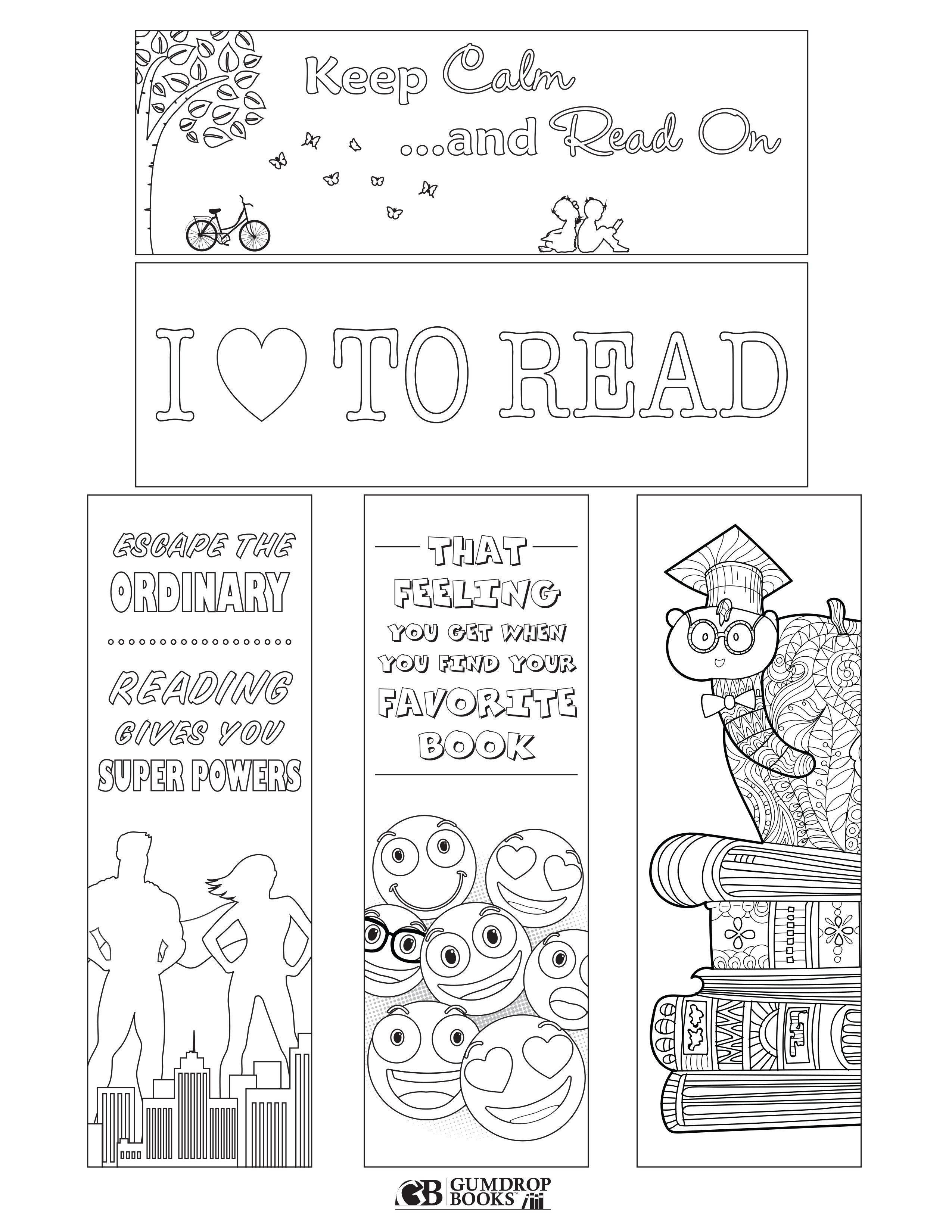 Free Printable Bookmarks From Gumdrop Books. To Print, Click On The - Free Printable Bookmarks For Libraries
